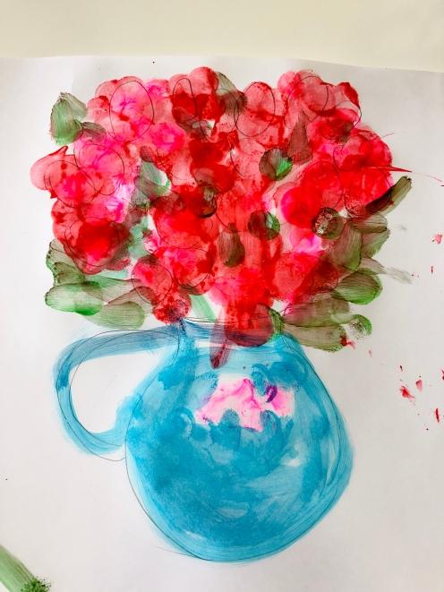 花瓶裡的花